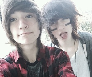 gorgeous, kohnnie, and johnnie guilbert image