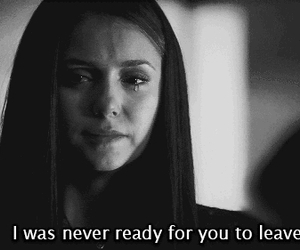 sad, quotes, and the vampire diaries image