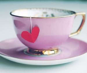 heart, tea, and cute image
