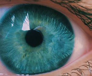 eyes and turquoise image