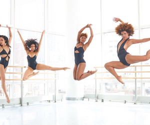 ballet, black, and dancers image