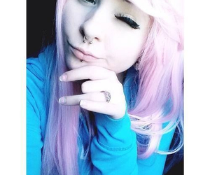 pink hair, alt girl, and alternative image