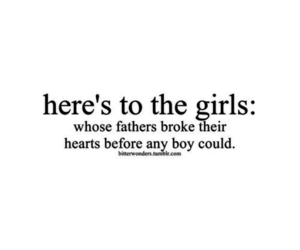 here's to the girls and badfather image