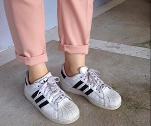 pink, adidas, and tumblr image