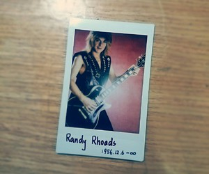 polaroid and randy rhoads image