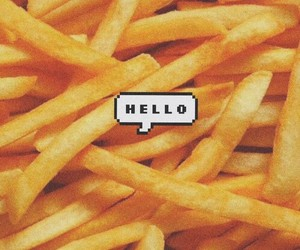 background, yummy, and chips image