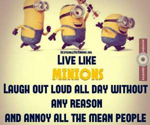 funny, inspirational, and minions image