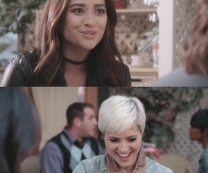 pll, shay mitchell, and emily fields image