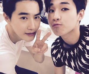 exo, suho, and henry image