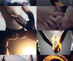 fantasy, magic, and fire image