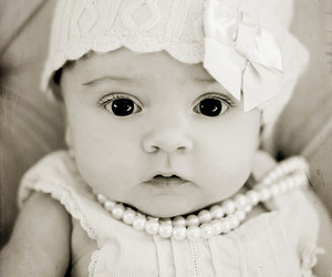 4 months old, baby, and bow image