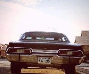 supernatural and impala image