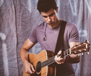 shawn mendes, guitar, and Hot image