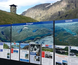 norway, besseggen, and sign image
