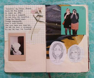 diary, journal, and ideas image