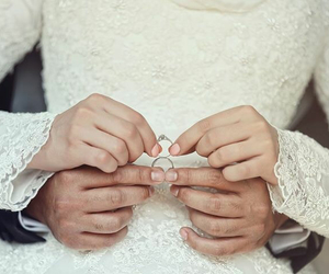 marriage, ring, and love image