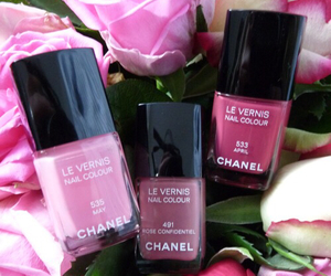 chanel, girl, and nails image