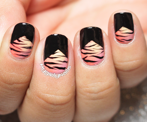 animal print, diy, and ombre image