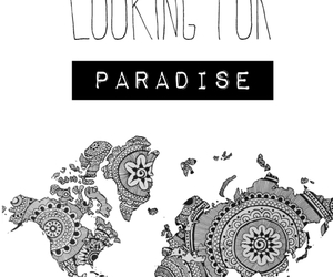 paradise and travel image
