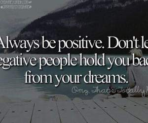 dreams and positive image