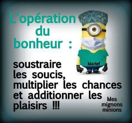 L Operation Du Bonheur Uploaded By Inesptrne
