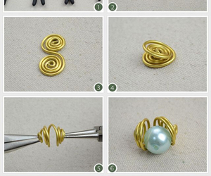 diy, gold, and necklace image