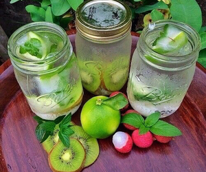 healthy, fruit, and drink image