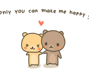 happy, cute, and love image