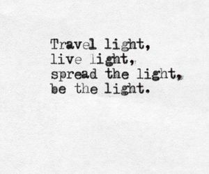 light and quotes image