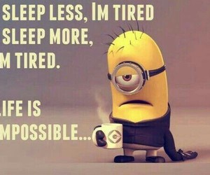 minions, funny, and life image