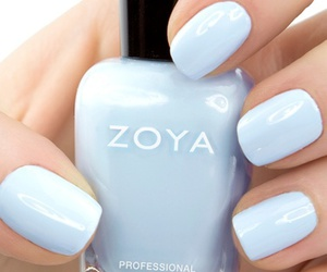 nails, blue, and zoya image