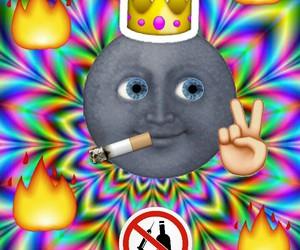 Collage, drugs, and emoji image