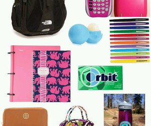 whats in my school bag image