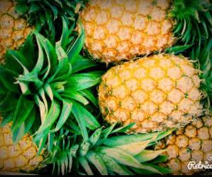 ananas, fruit, and pineapple image