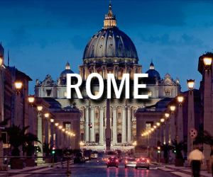 italy, night, and rome image