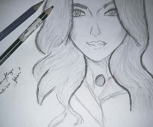 art, inlove, and sketch image
