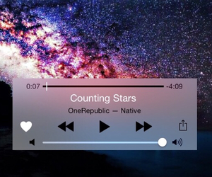 counting stars, music, and onerepublic image