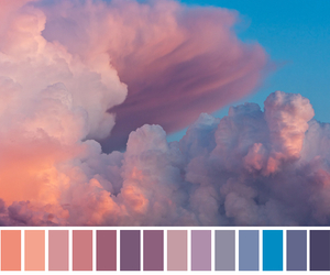 cloud, nature, and colors image