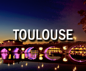 france, Toulouse, and night image