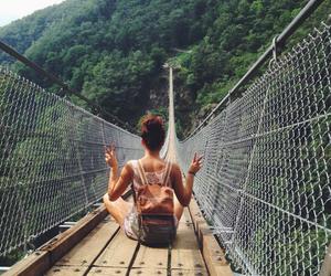 travel, hipster, and nature image