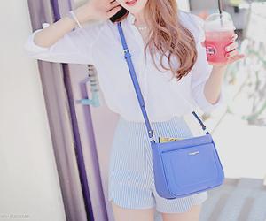 kfashion, korean fashion, and summer image