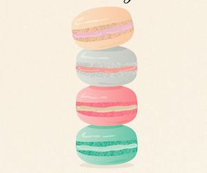 life, macaroons, and sweet image