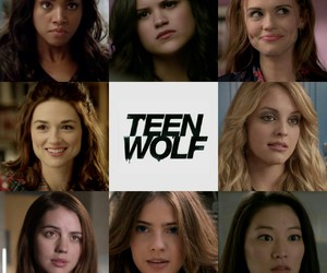 teen wolf, braeden, and cora hale image