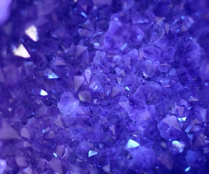 purple, crystal, and pretty image