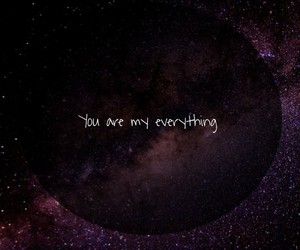 everything, space, and galaxy image