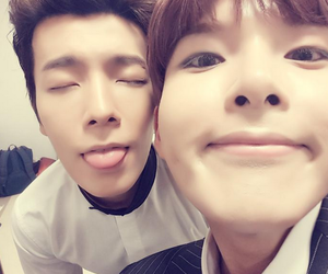 donghae, super junior, and ryeowook image