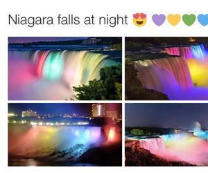 colors, niagara, and falls image