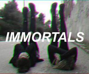 Immortal, black, and grunge image