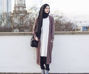 hijab, style, and fashion image
