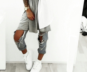fashion, clothes, and nails image